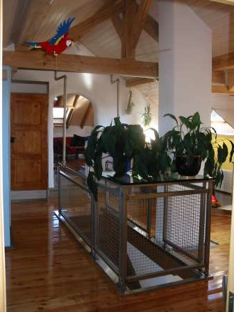 barri re d 39 escalier. Black Bedroom Furniture Sets. Home Design Ideas